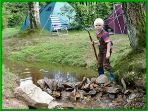 Kindvriendelijke camping Ardennen